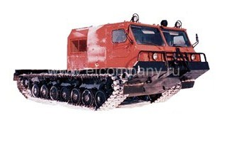 Снегоболотоход МГШ-521М1